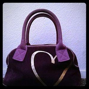 Purple Victoria Secret handbag